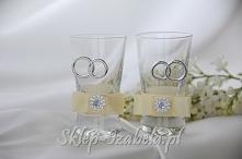 Kieliszki ślubne na wesele