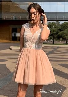 Tiulowa sukienka na wesele ...