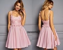 Sukienka na cienkich ramiąc...
