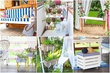 15 pomysłów DIY na balkon l...