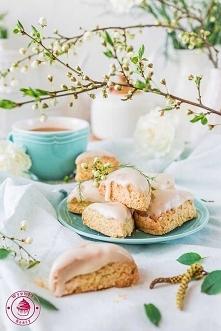 Mini waniliowe scones - Wyp...