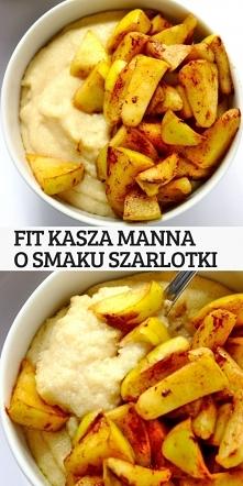 FIT kasza manna o smaku szarlotki