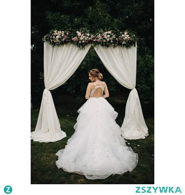 Ślub w plenerze dekoracje.