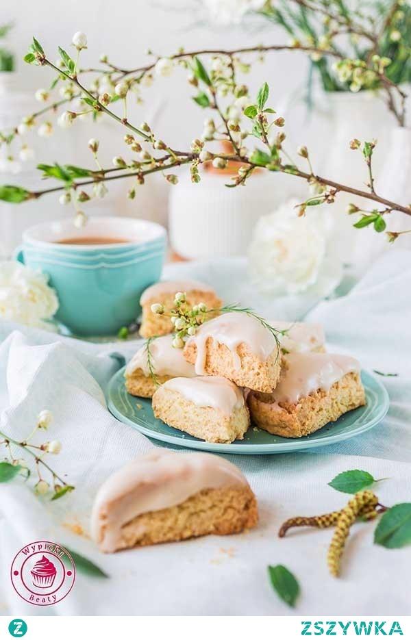 Mini waniliowe scones - Wypieki Beaty