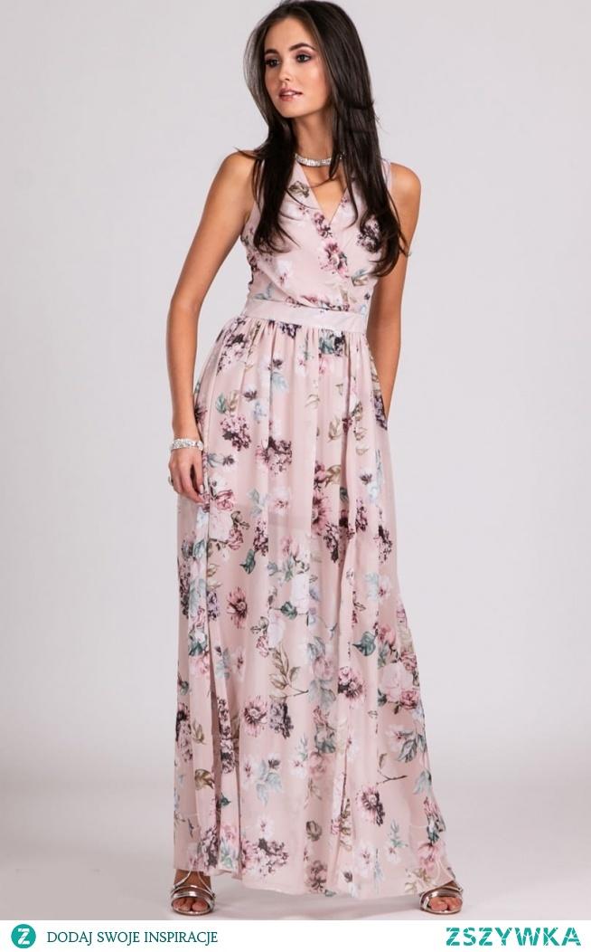 Długa sukienka na lato od marki Roco fashion