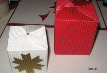 Pudełka diy na prezenty.