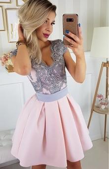 Elegancka sukienka balowa r...