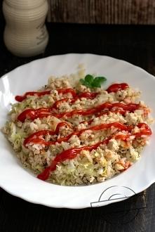Zapiekana ryżowa z mielonym...