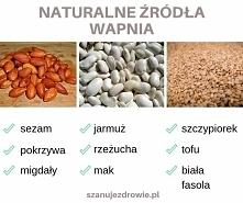 Naturalne źródła wapnia