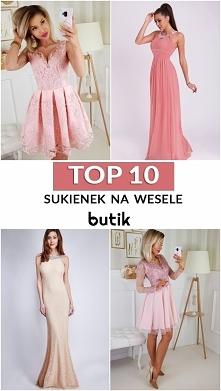 TOP 10 sukienek na wesele K...