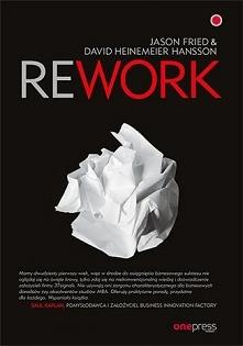 """Książka """"Rework"""" ..."""