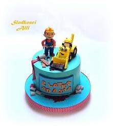 Tort z bajki Bob budowniczy