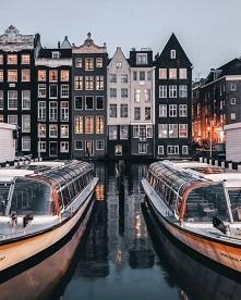 Amsterdam, stolicą konstytucyjna Holandii. Zapraszamy na puzzle