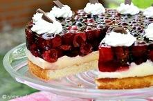 ciasto z czeresniami i budy...