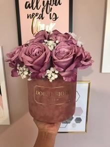 Piękny flower box ze sztucz...