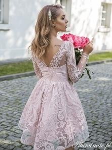 77cdfc45eb Rozkloszowana sukienka na wesele z kolekcji Illuminate.pl