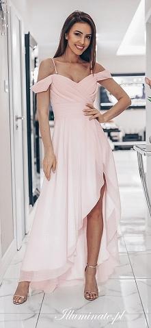 Sukienka dla druhny w pudro...