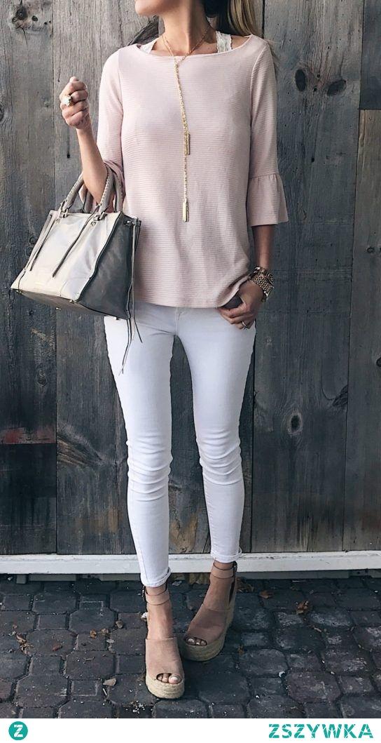 Nie wyobrażam sobie lata bez białych spodni! :*** A wy lubicie je nosić? Model ze zdjęcia zobaczysz po kliknięciu w obrazek.