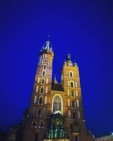 Kraków nocną porą. Nastrojo...