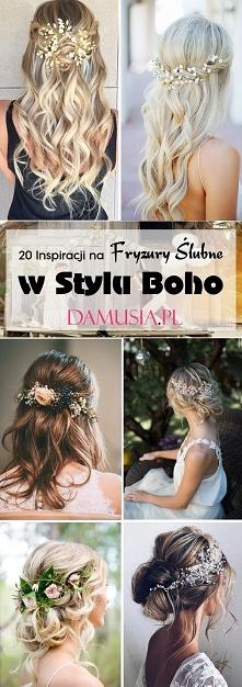 Fryzury Ślubne w Stylu Boho: TOP 20 Modnych Inspiracji na Idealną Fryzurę dla...