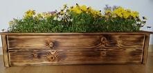 drewniane doniczki oslony n...