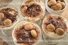 Krem z czekoladą i rodzynkami