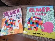 Książeczki z serii Elmer.