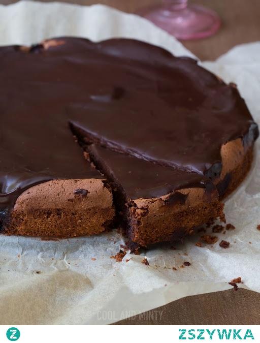 szybkie i łatwe ciasto czekoladowe.