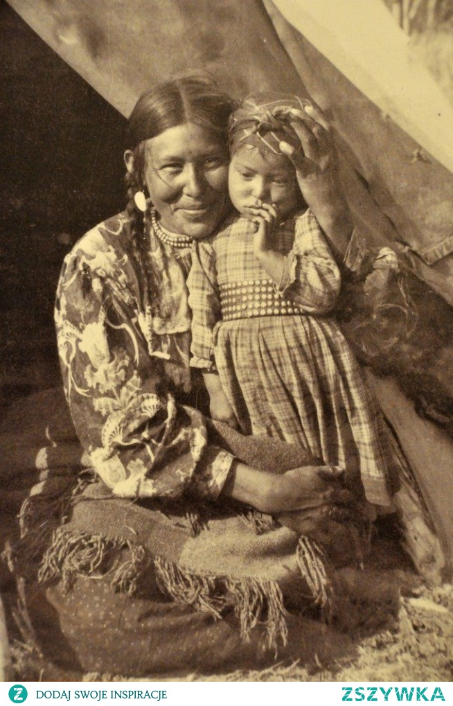Mom and Child, c.1900.