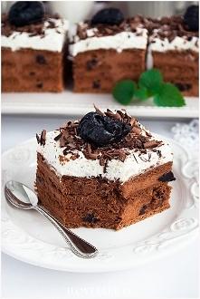 Ciasto pijana śliwka bez pi...