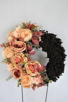 Romantyczny kwiatowy wianek...
