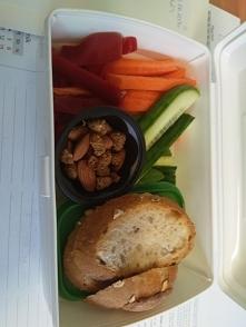Pakunek do pracy - warzywa ...