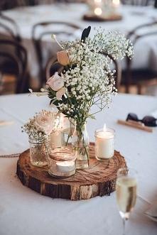 Inspiracja na stół weselny <3