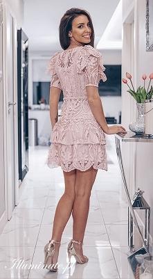 NOWOŚĆ! Koronkowa sukienka ...