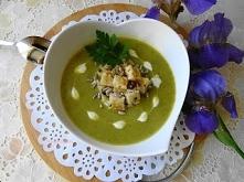 Zupa Krem z Brokułów. Przys...