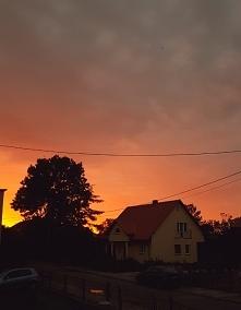 Niebo zapłonęło :)