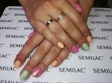 Semilac 265, 154, 166
