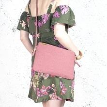 Nodo Bag różowa torebka / k...