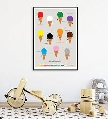 Plakat POZNAJĘ KOLORY | LOD...