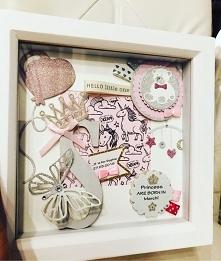 baby born box frame 18x18cm