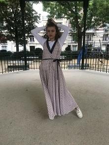 Sukienka jedwabna RIAMA