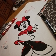 Mickey mouse :)