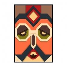 Plakat Abstract Mask/6