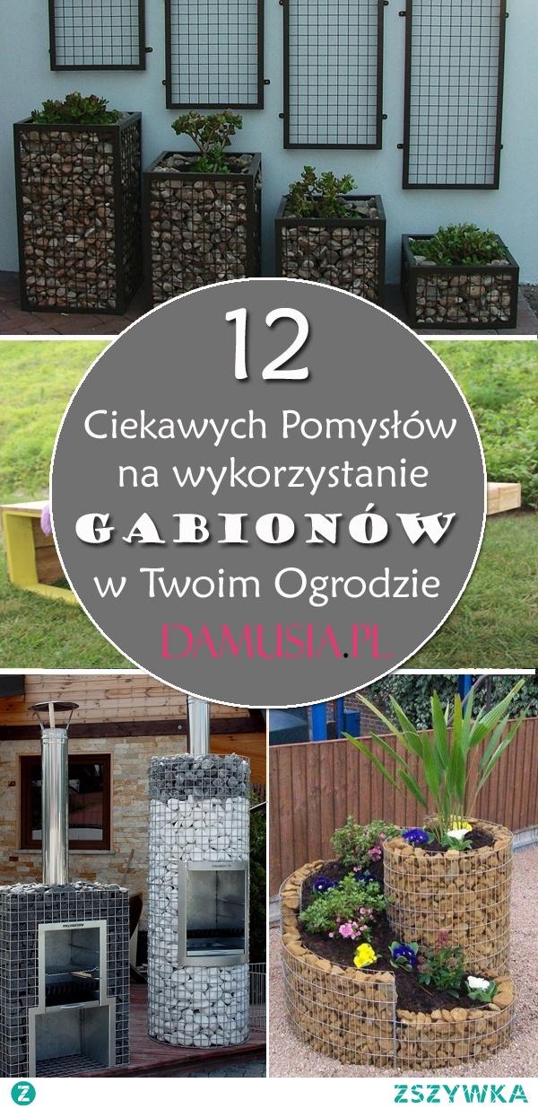 12 Ciekawych Pomysłów na Wykorzystanie Gabionów w Ogrodzie