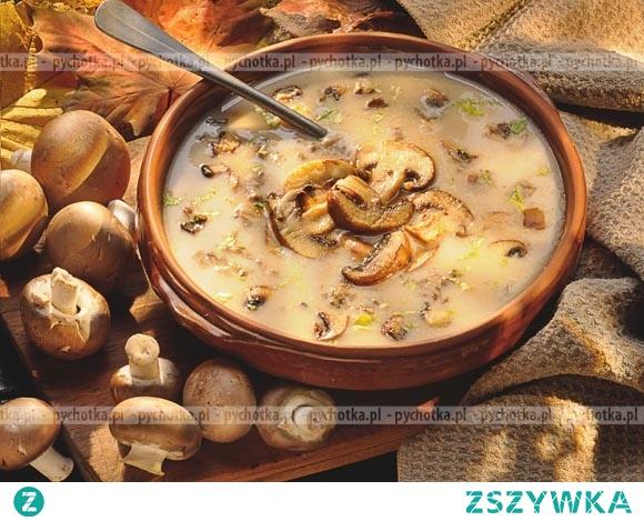 Zupa pieczarkowa Iwony