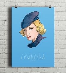 Tamara Łempicka - plakat