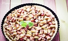 Tarta z rabarbarem