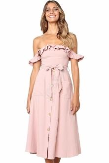 Sukienka idealna na wakacje:)
