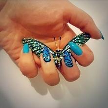 Znów zrobiłam motylki na pa...