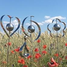 dekoracje ogrodowe ze stali...